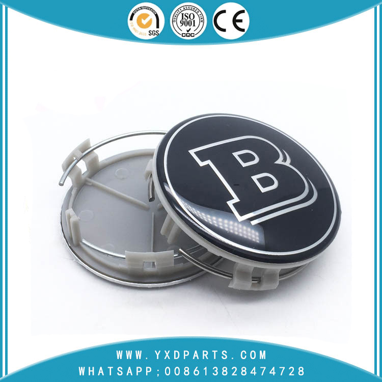 Mercedes-Benz car B wheel center cap logo 75mm