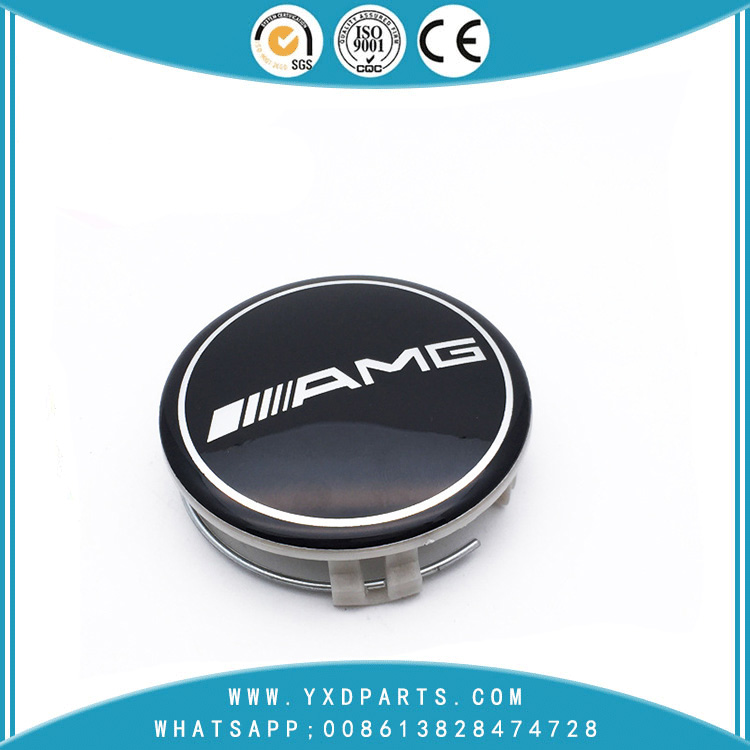 Wholesale Mercedes-Benz Hubcap Hub Center Cap Standard Modified Apple Tree AMG Mercedes-Benz Hubcap Symbol