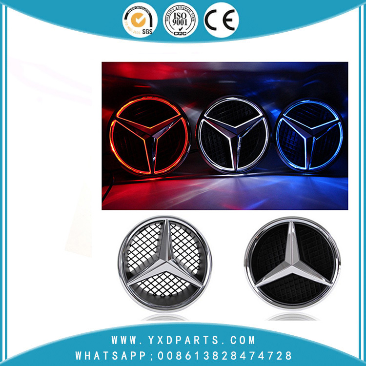 Mercedes-Benz C-class GLK class conversion special LED light logo 180mm