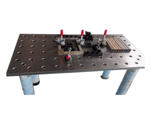 2D welding table
