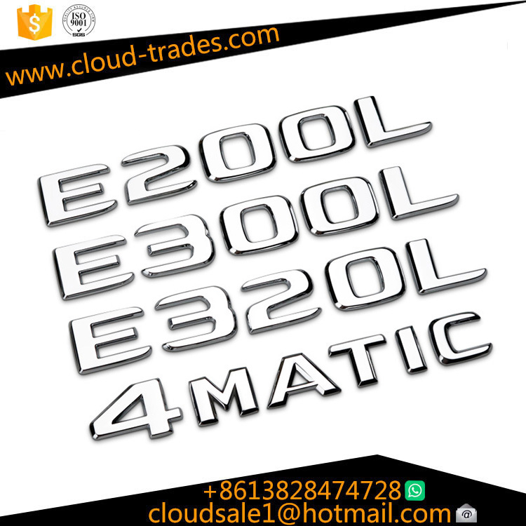 Mercedes-Benz car sticker C200LC260L C300L wordmark C63S logo AMG 4MATIC tail car stickers modified