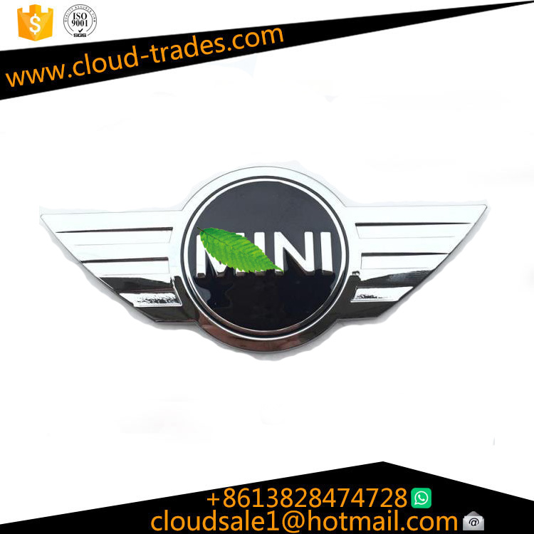 BMW mini car standard COOPERS metal before and after standard modified mini three-dimensional rear tail box car stickers