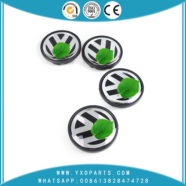 Volkswagen Hub Cap VW 56mm 65mm Hubcap Wholesale Volkswagen Wheel Car Logo ABS Material