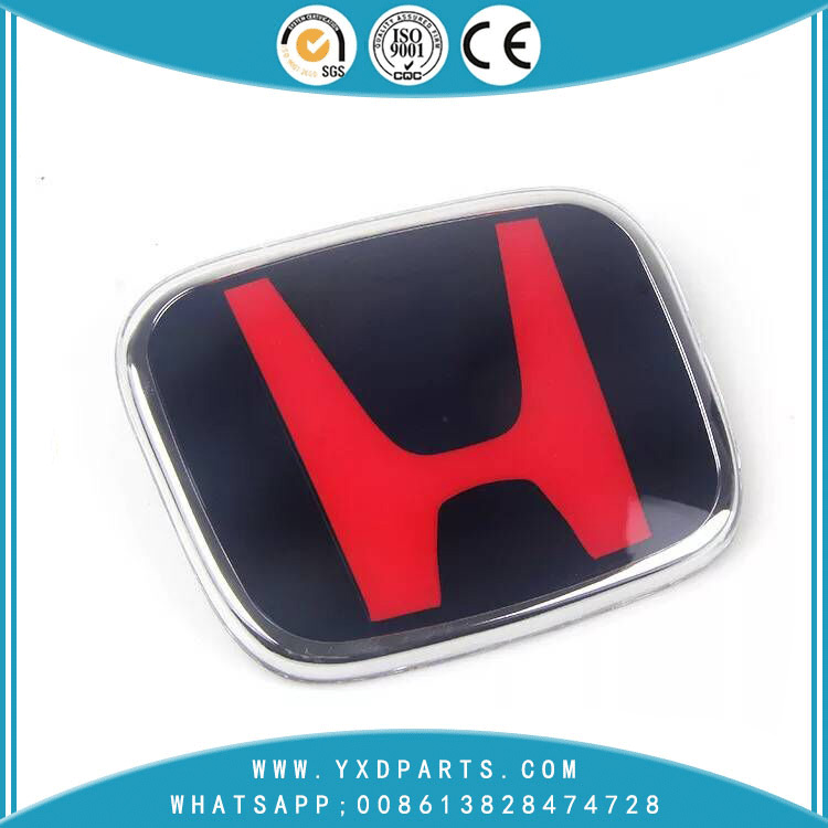 Honda Red Car Standard Red Fit Accord Ten Generation Civic Bingo CRV Jade Front Van Odyssey Sign car logo emblem