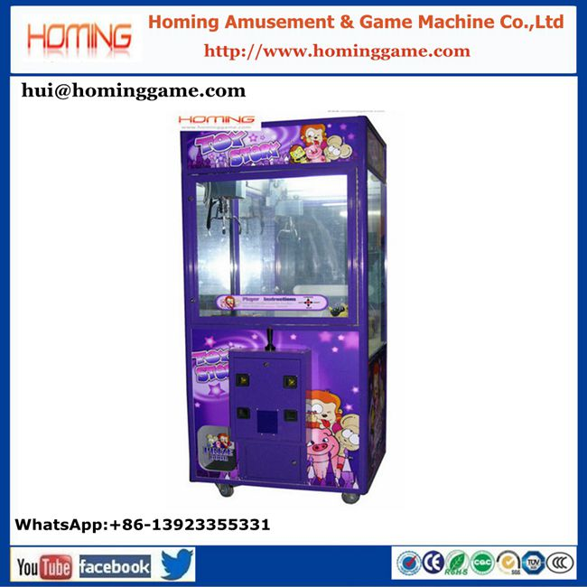 New Promotion Candy Gift Prize Claw Crane Machine, Gift Vending Arcade Game Machine, gift crane claw game For Kids