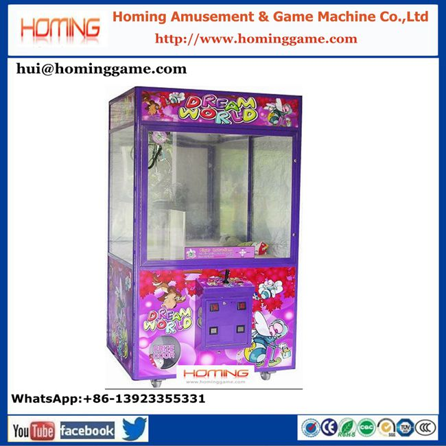 HomingGame 2018 key master/hottest mini crane claw game machine/ crane machine for sales