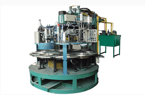 ¢300-405  ten working station rotary automatic molding machine
