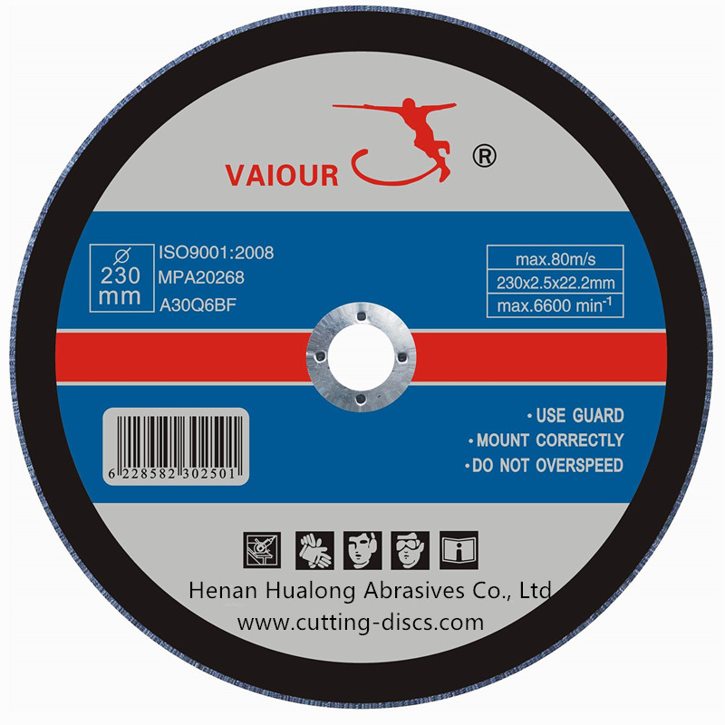 230x2.5x22.23mm Abrasive Cutting Wheel For  Metal