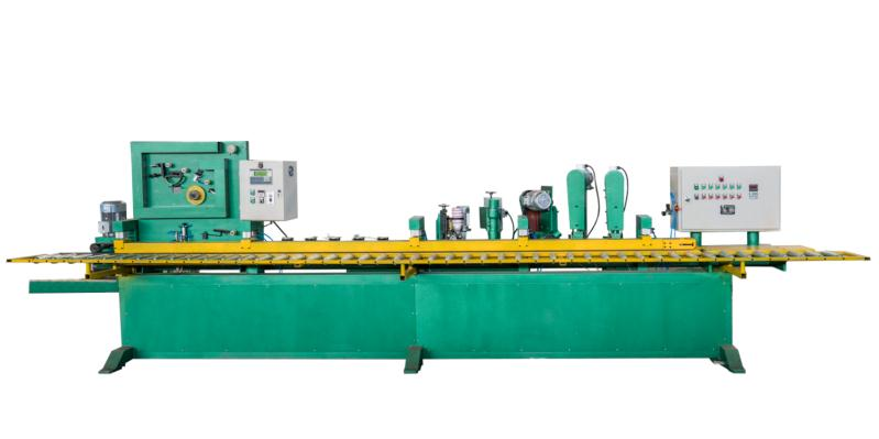 Abrasive Skiving Machine For Sanding Belt