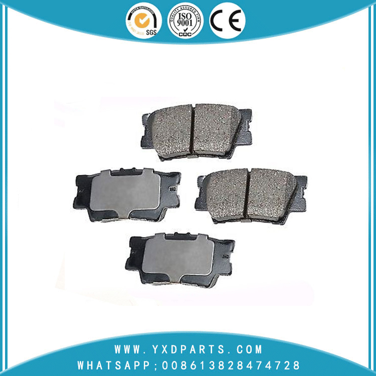 car brake pads wholesale oem 04466-33180 for PONTIAC TOYOTA LEXUS