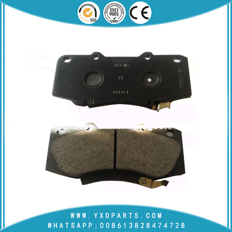Bosch Brake pads oem 04465-0k330 for TOYOTA FORTUNER HILUX