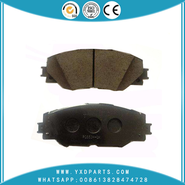 Japanese car brake pad wholesale oem 04465-02220 for LEXUS SUBARU TOYOTA
