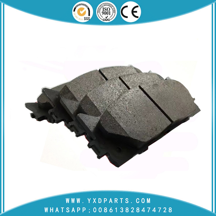car Brake pad wholesale oem 04465-06100 for LEXUS ES TOYOTA AURION CAMRY