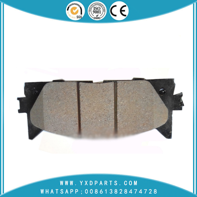 China Brake Pad manufacturer oem 04465-33450 for Lexus toyota