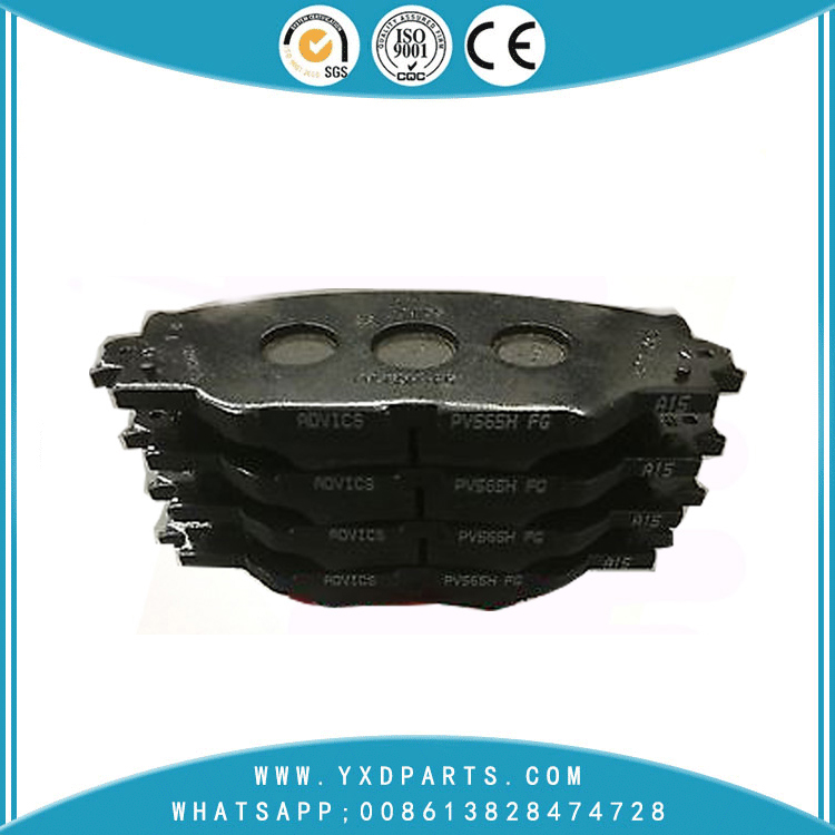 Brake Pad manufacturer oem  for toyota RAV 4 PRIUS PREMIO MATRIX MARK AURIS