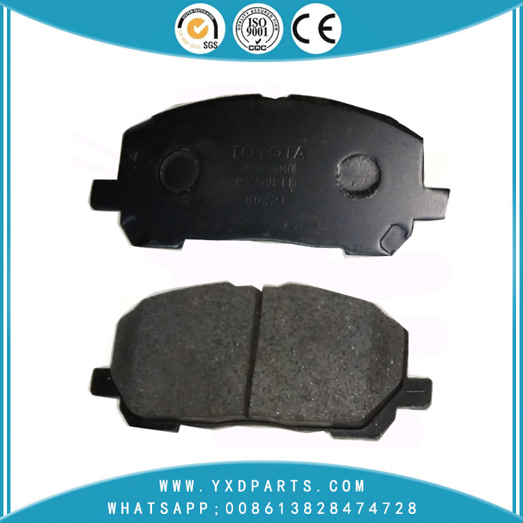 China Brake Pad factory oem 04465-48020 D2218 for LEXUS toyota