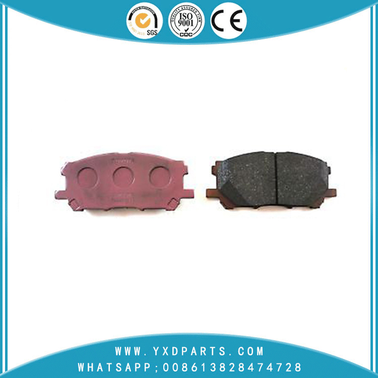 China Brake Pad factory oem 04465-48100 for LEXUS RX TOYOTA HARRIER