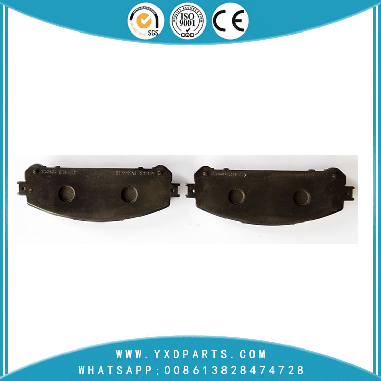 China Brake Pad factory oem 04465-48150 for LEXUS NX200T NX300H RX350 RX450H TOYOTA HIGHLANDER SIENNA