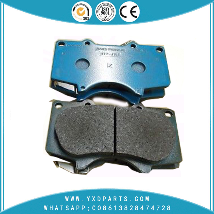 oem 04465-60320 Japanese car Brake Pad for LEXUS TOYOTA