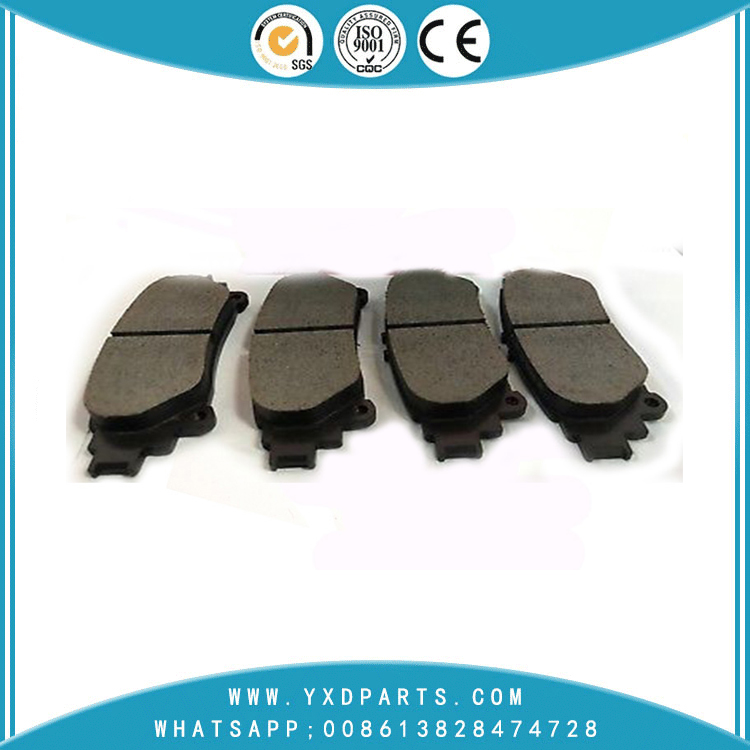China brake pad factory wholesale cheap oem 04466-0E010 for LEXUS TOYOTA