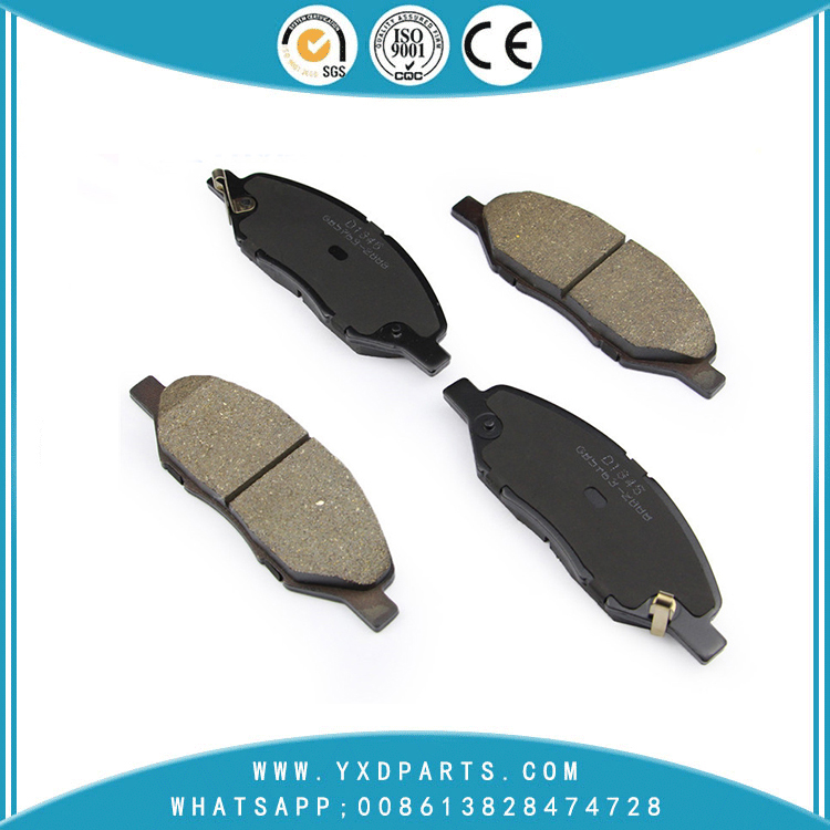 China car brake pads factory oem AY040-NS110 for NISSAN