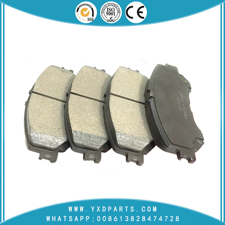 car brake pads factory oem D1060-4BA0A for NISSAN QASHQAI X-TRAIL RENAULT KADJAR