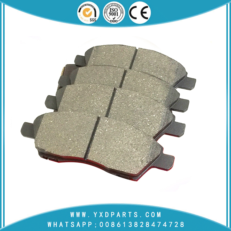 car brake pads factory oem D1060-ED500 for NISSAN ALMERA TIIDA VENUCIA  D50 R30 R50X
