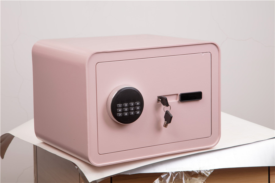 colorful electronic home safe with LCD display digits safe