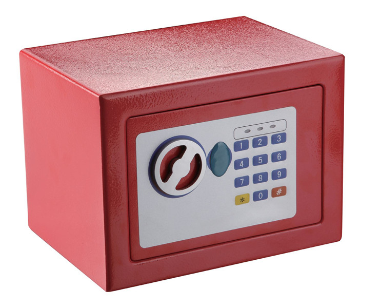 cheaper mini safe box with electronic lock small metal safe locker