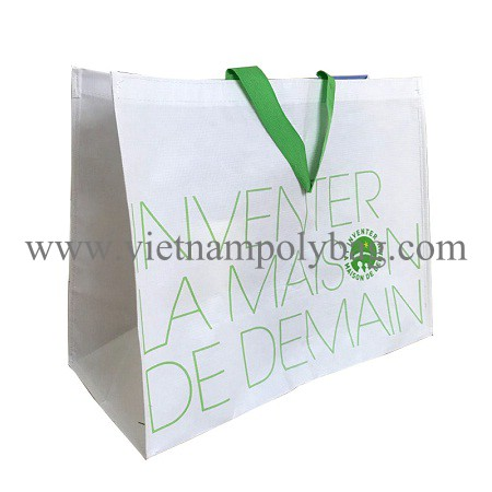 Vietnam RPET laminated shopping bag - vietnampolybag.com