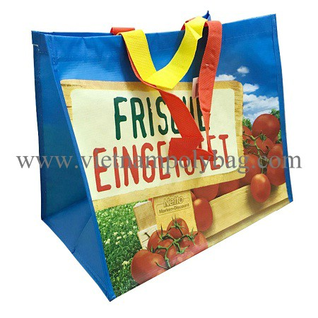 Vietnam RPET laminated shopping bag