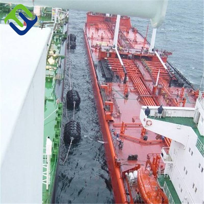 Boat rubber pneumatic fender