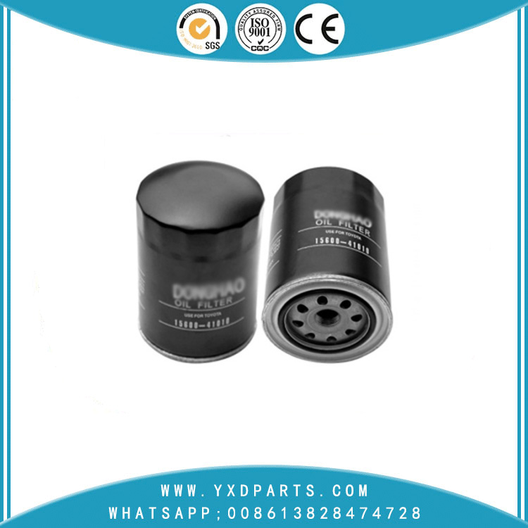 China manufacturer auto lubrication system parts oil filter 15600-41010 for Yuchai YC2108Q Engine auto parts