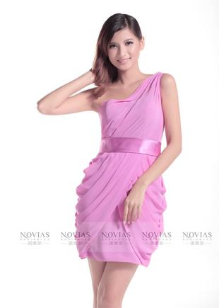 Satin belt, empire waist bridesmaid dresses