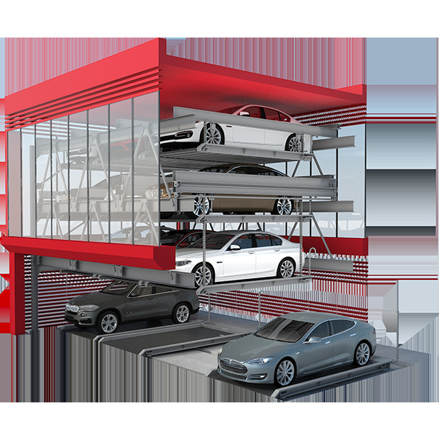 Tower parking automated smart car vertical parking system solutions