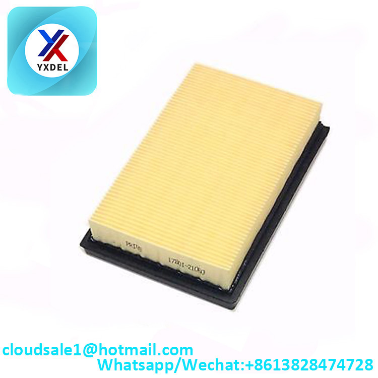 manufacturer Auto Engine Car Air Filter  using best Parts paper auto parts air filter for Toyota YARIS