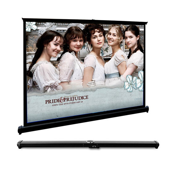 Fast Fold Mini Table Screen Projection Screen For Desktop Presentation Movies Cinema