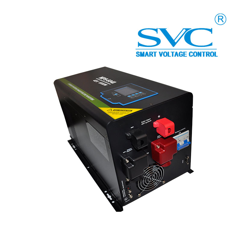 LCD Display CPU Controlled 48V 220V 4000W Power Inverters Converters
