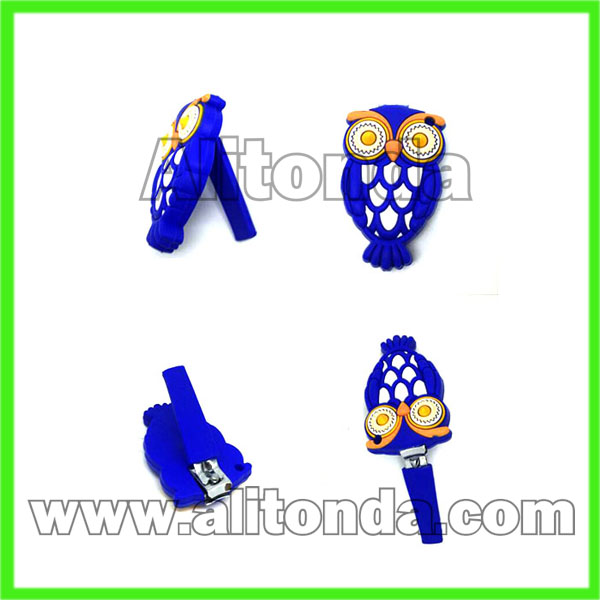 Cute cartoon animal figure nail clippers custom