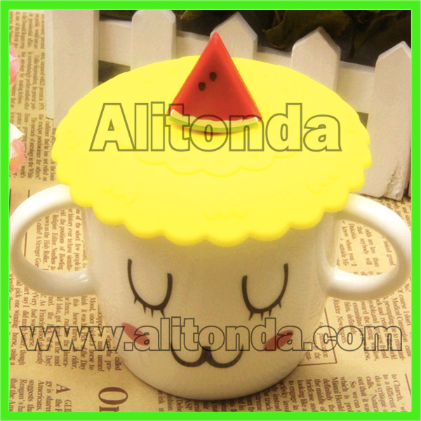 Soft cartoon cute cup cover custom