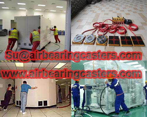 Air bearing movers moving tools usage and price list
