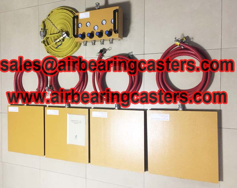 Air bearing casters is the best options for moving heavy objects