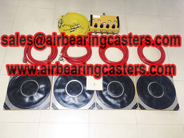 Air caster air bearing works principle