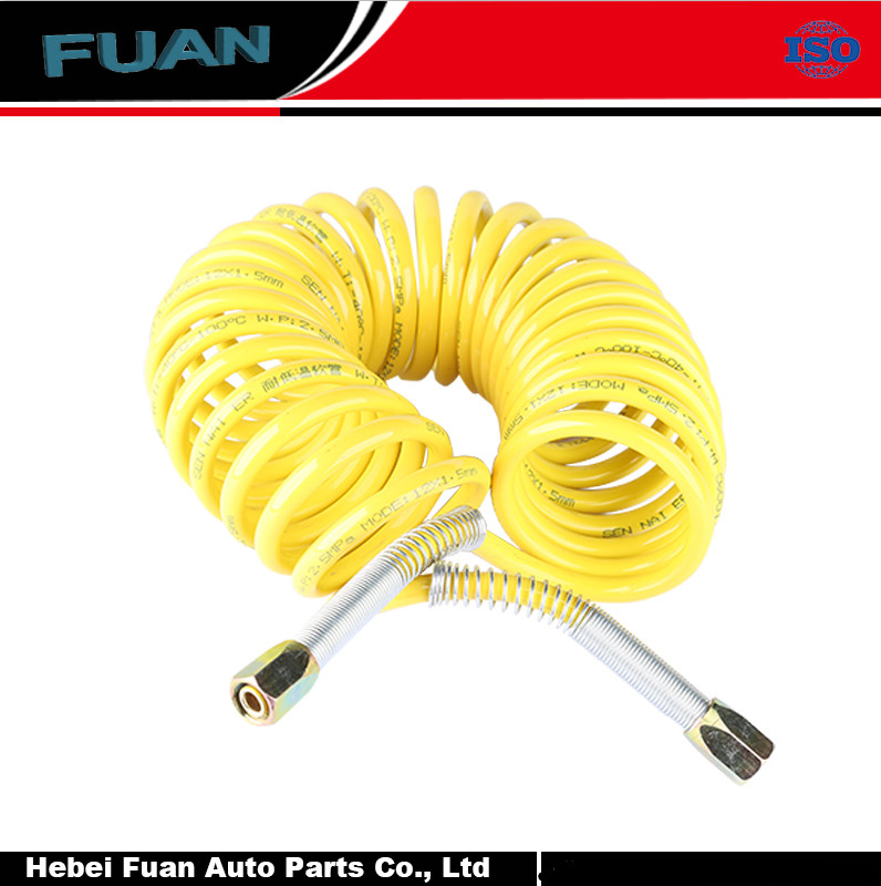 Industrial Spiral tube air hose Spring hose for Hydraulic/pneumatic tools