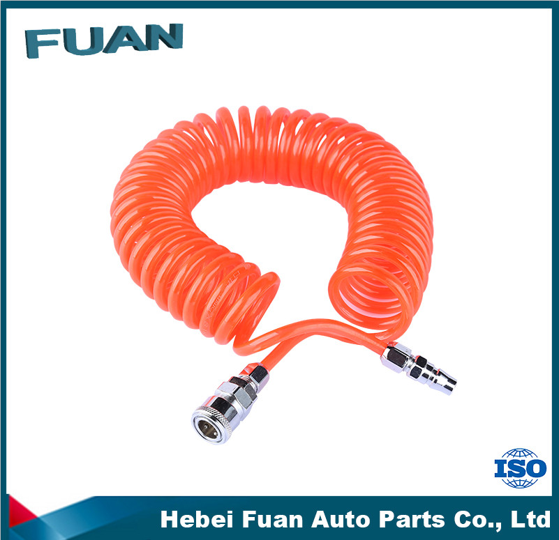 Professional wholesaler Red/Blue/Black Nylon Truck Trailer Air Brake Coil Hose