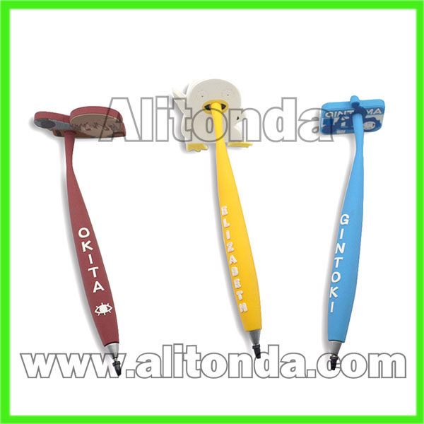 Promotional pens cartoon pens magnetic pens ball pen custom and supply