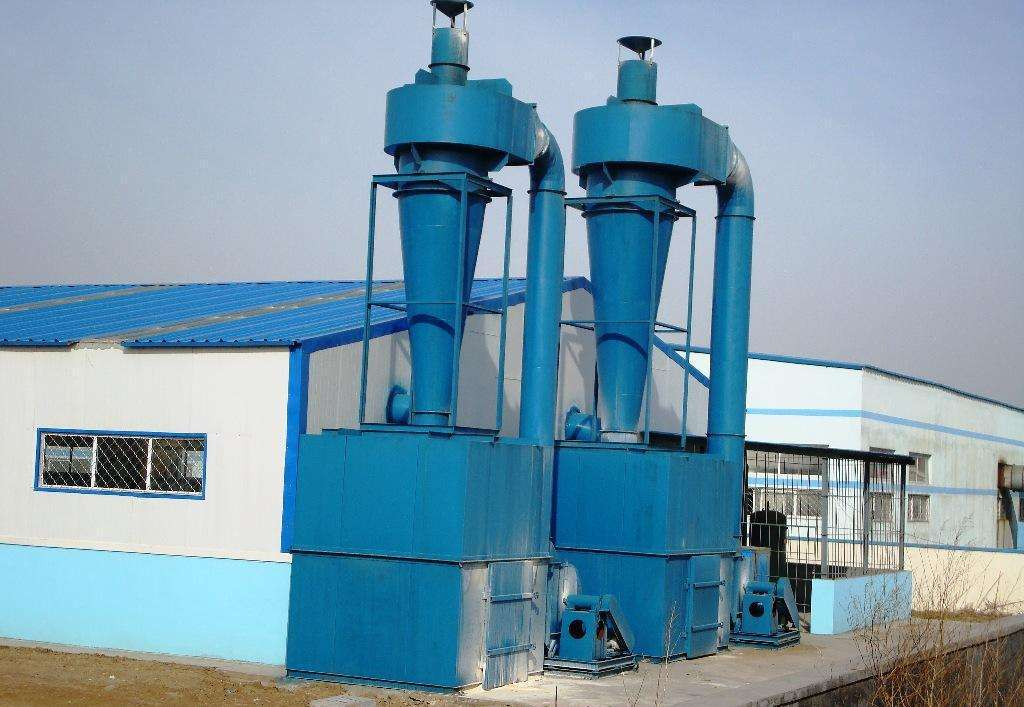 cyclone dust collector for paper making industry