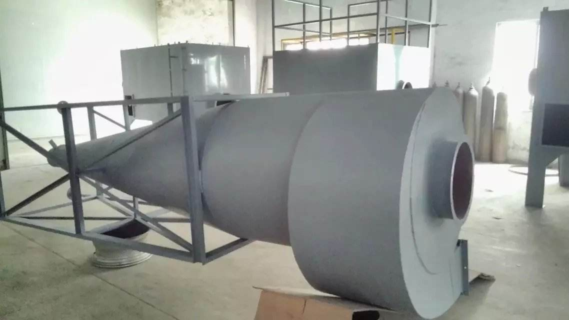 cyclone dust collector for sandblasting industry