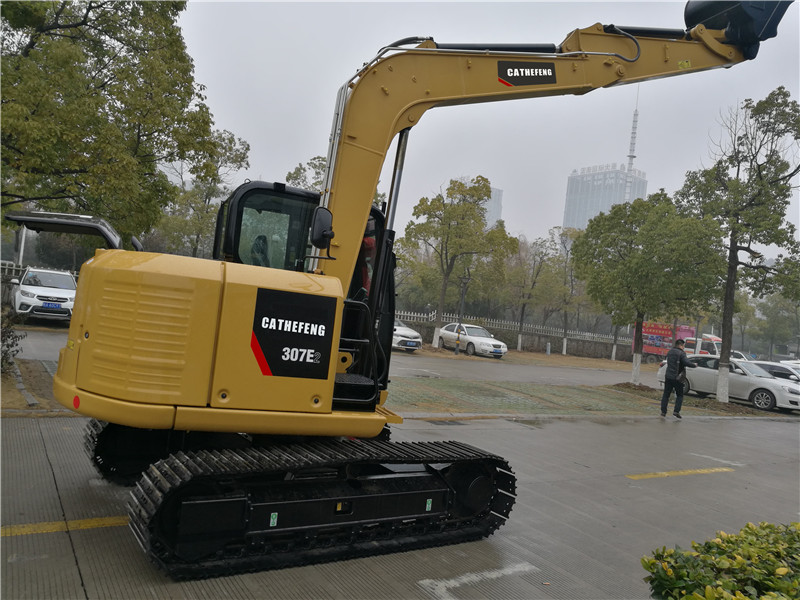 307E2 mini hydraulic  small CAT 5 ton crawler 0.25 m³ excavator/mini digger/small digging machine