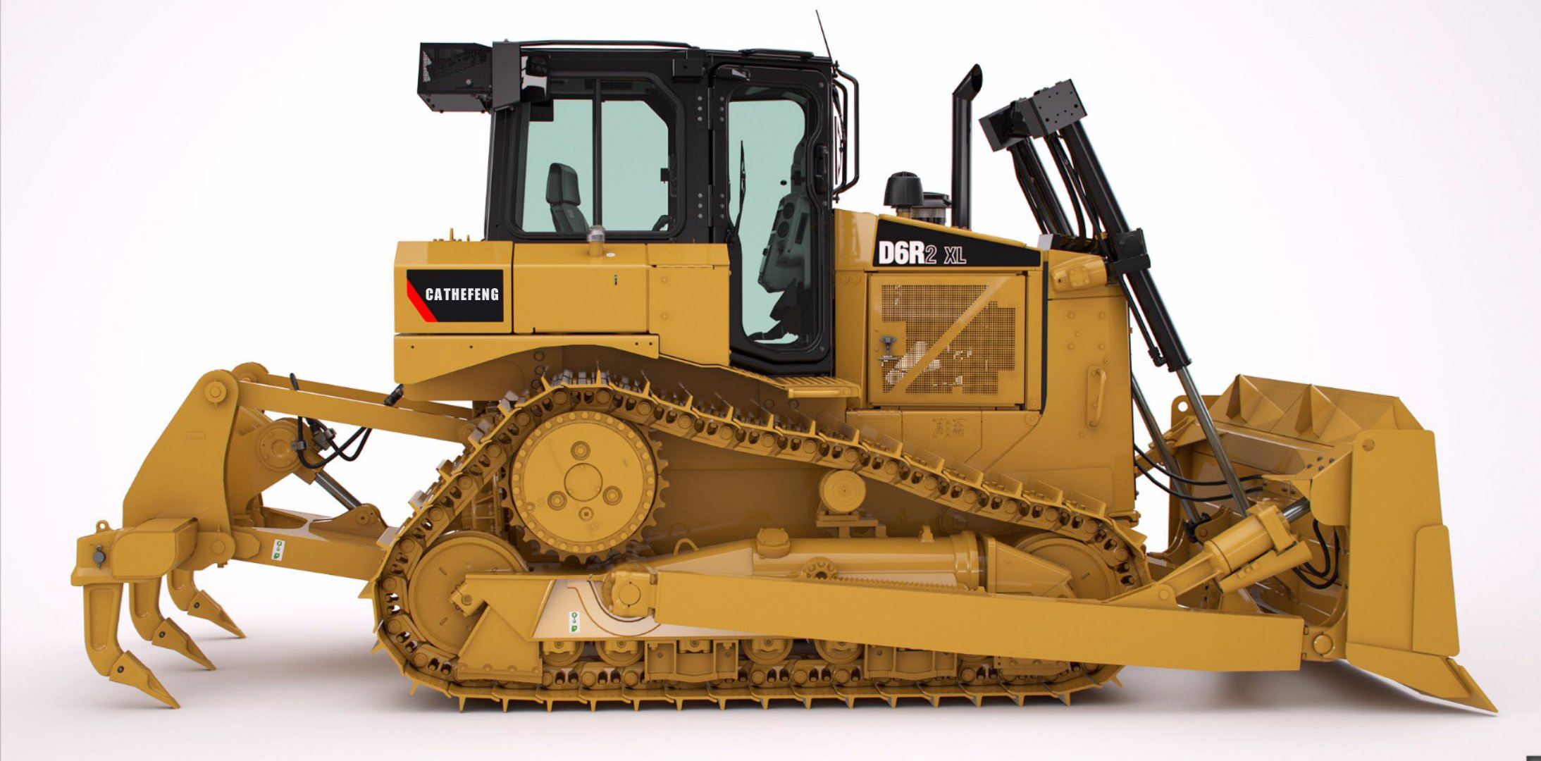 313D2GC medium mini small CAT 0.5m³ crawler hydraulic 12 ton excavator digger/ digging machine